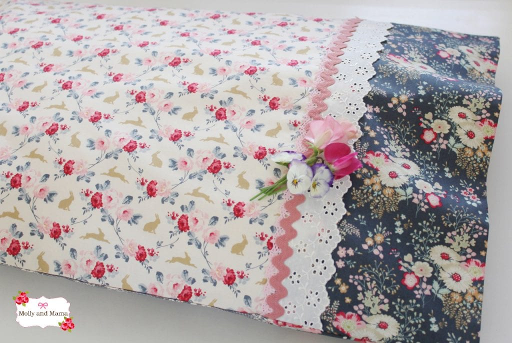 Tilda pillowcase from Molly and Mama