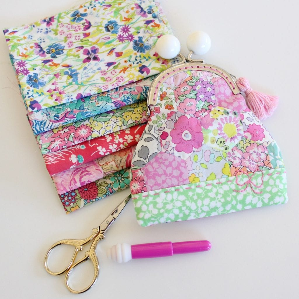 pretty penny coin purse by Molly and Mama