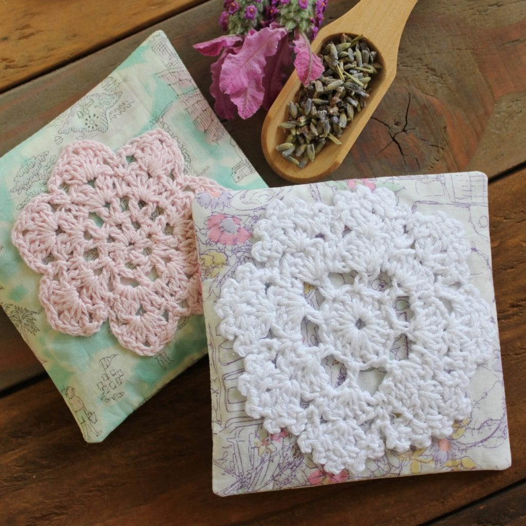 lovely lavender sachets by Molly and Mama