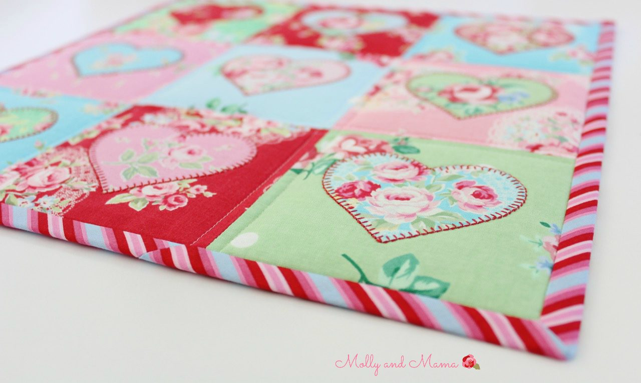 Beautiful binding - Molly and Mama