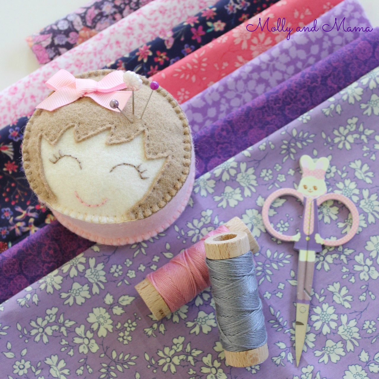 Lilac Liberty with Miss Molly